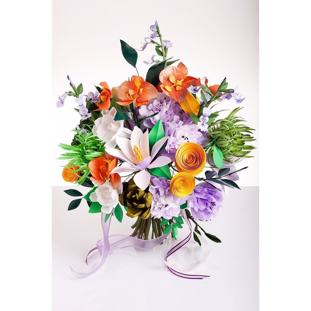 Paper Flowers by Paper Portrayals  Paper Flowers  Pinterest