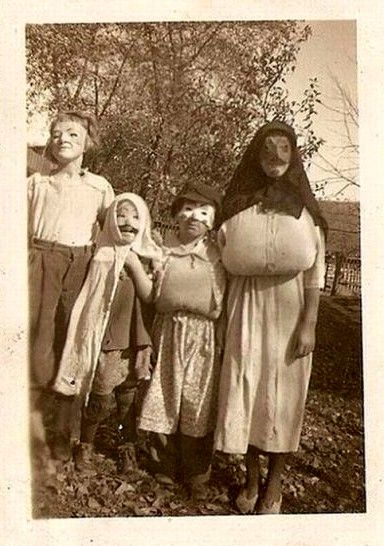 Vintage Costumes For Halloween Creepy Vintage Old Halloween
