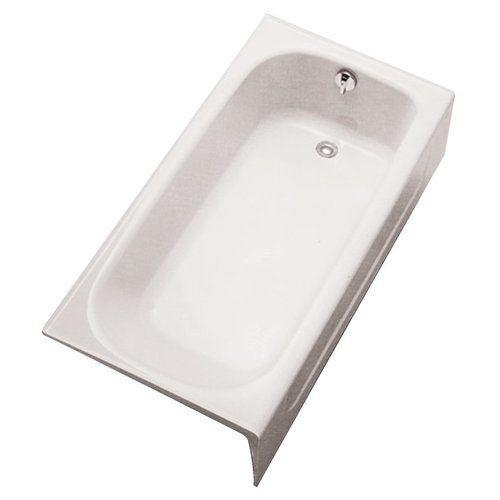Toto R Hand Cast Iron Bathtub 60 X 30 X 14 6 8 Cotton White
