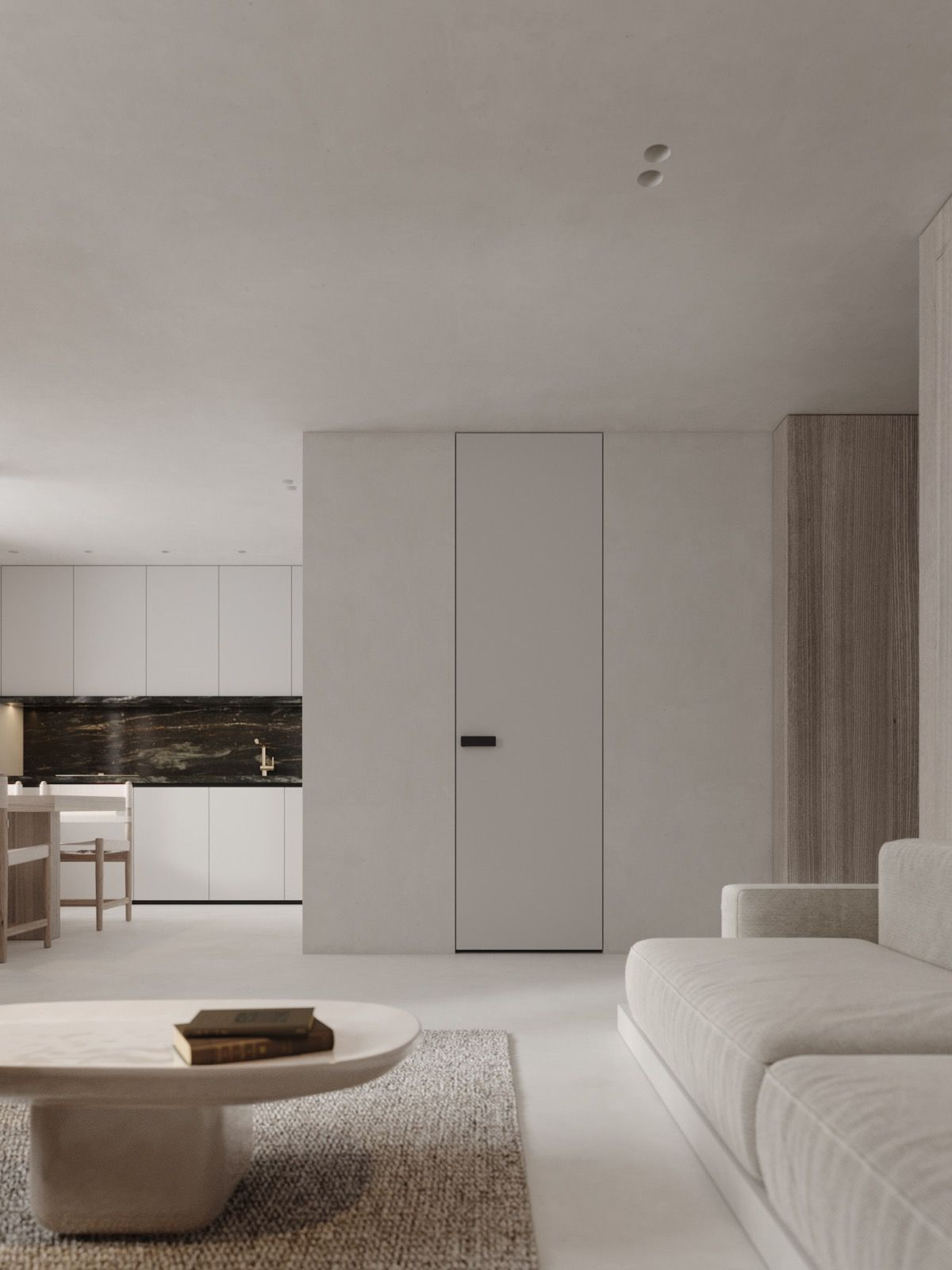 Neutral Modern Minimalist Interior Design 4 Examples That Masterfully Show Us How 이미지 포함 인테리어 아이디어 현대 거실 미니멀리즘 집