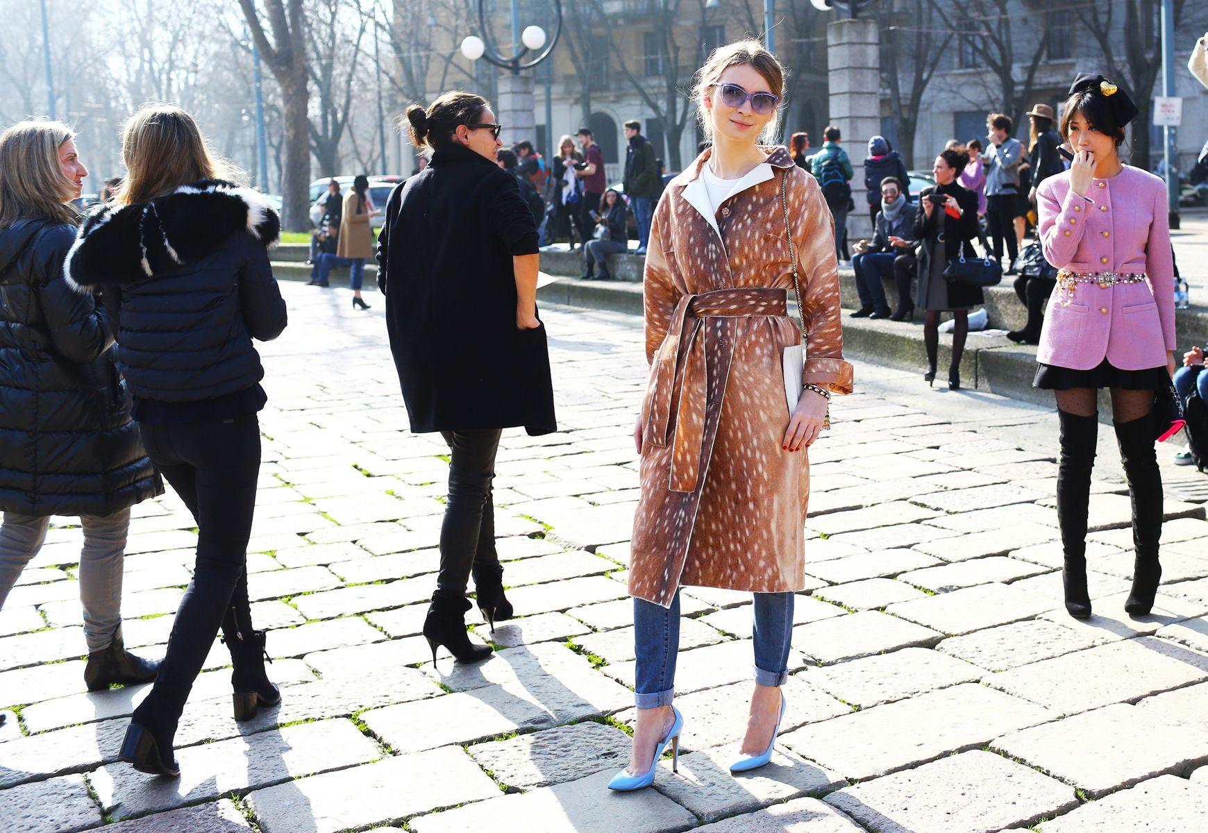 Street Style: Milan Fashion Week Fall 2014 -