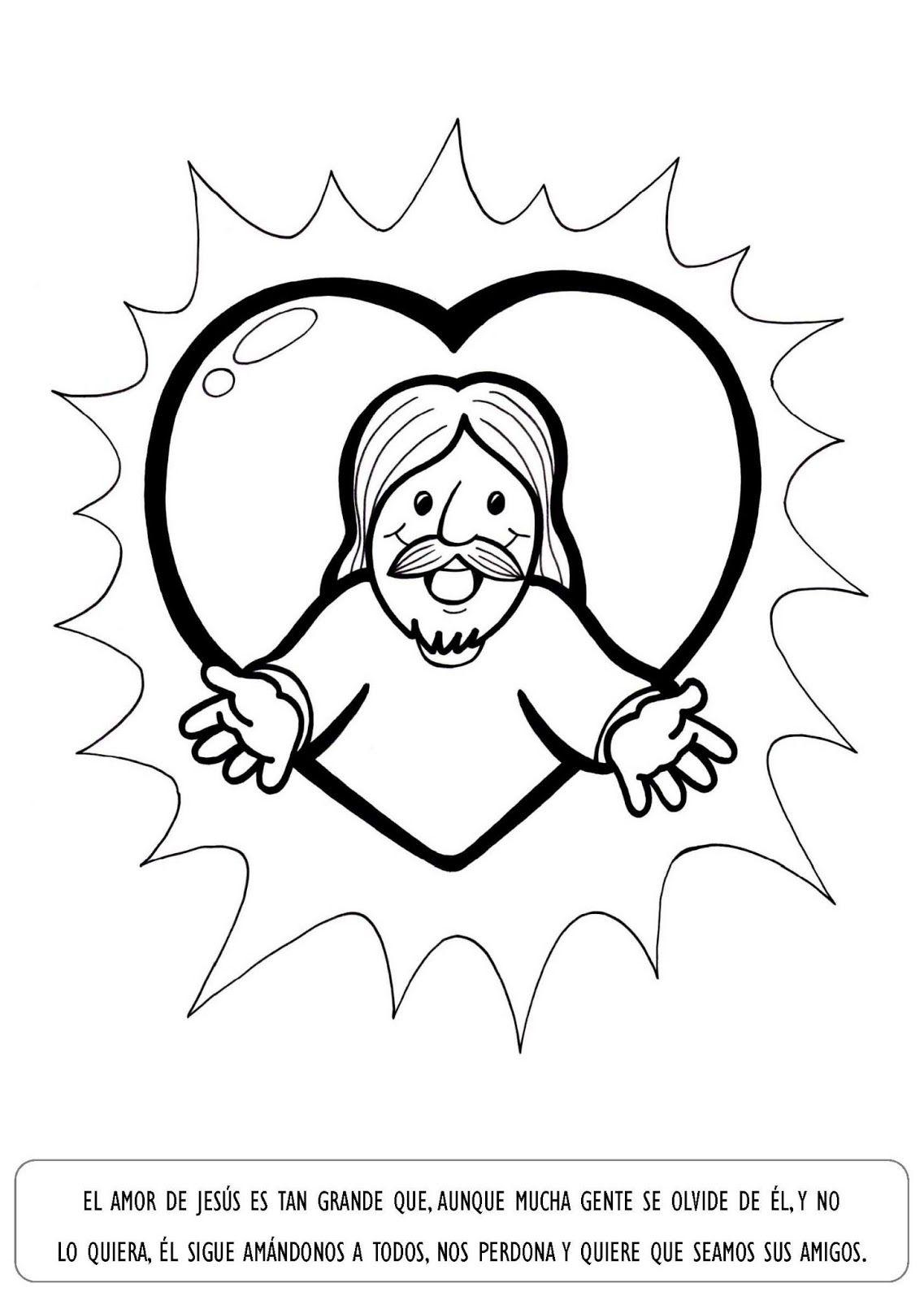 La Catequesis: Explicación con imágenes para niños: Sagrado Corazón ...