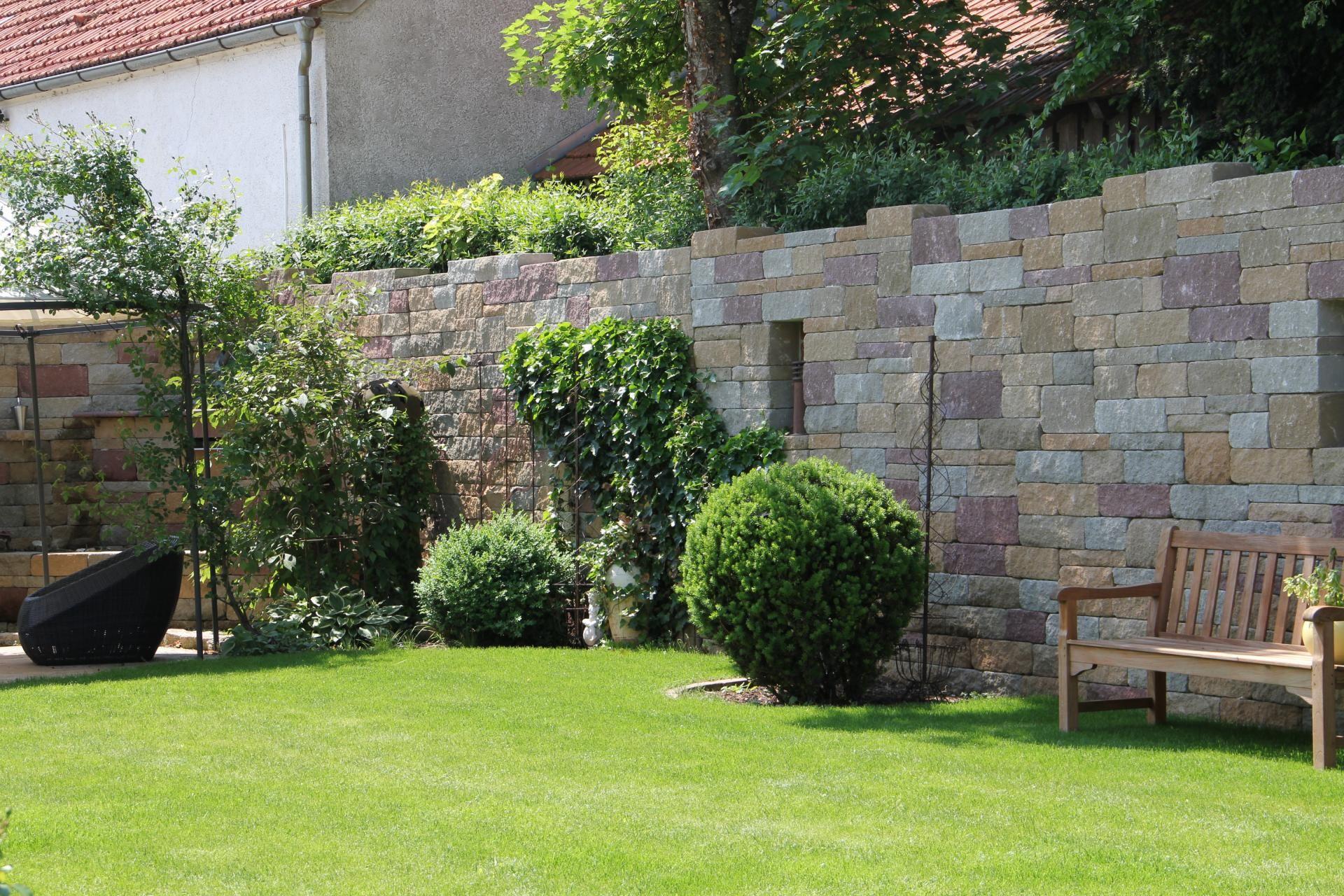 SANTURO Burgruinenmauer   Gartenmauern, Ruinen, Haus und garten