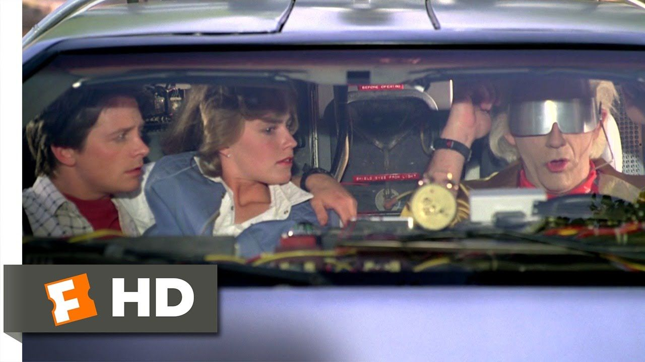 Back To The Future Part 2 1 12 Movie Clip We Don T Need Roads