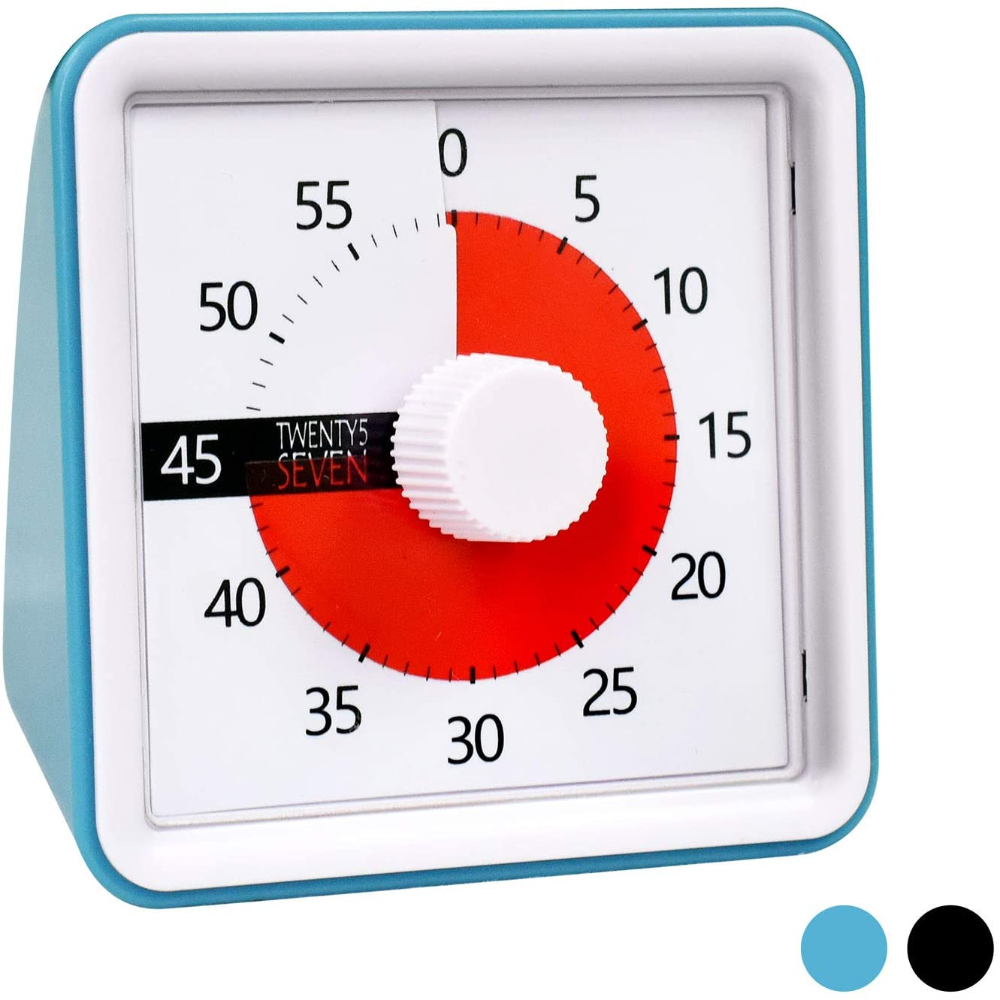 Amazonsmile Countdown Timer 3 Inch 60 Minute 1 Hour Visual Timer Classroom Teaching Tool Office Meeting Countdown Clo In 2020 Clock For Kids Countdown Timer Timer