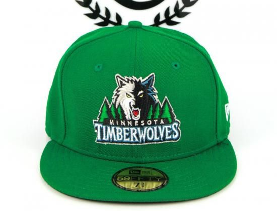 pretty nice e7e17 aece9 ... shop cheap for sale b44ca 2bfc7 minnesota timberwolves kelly green 59fifty  fitted baseball cap by new