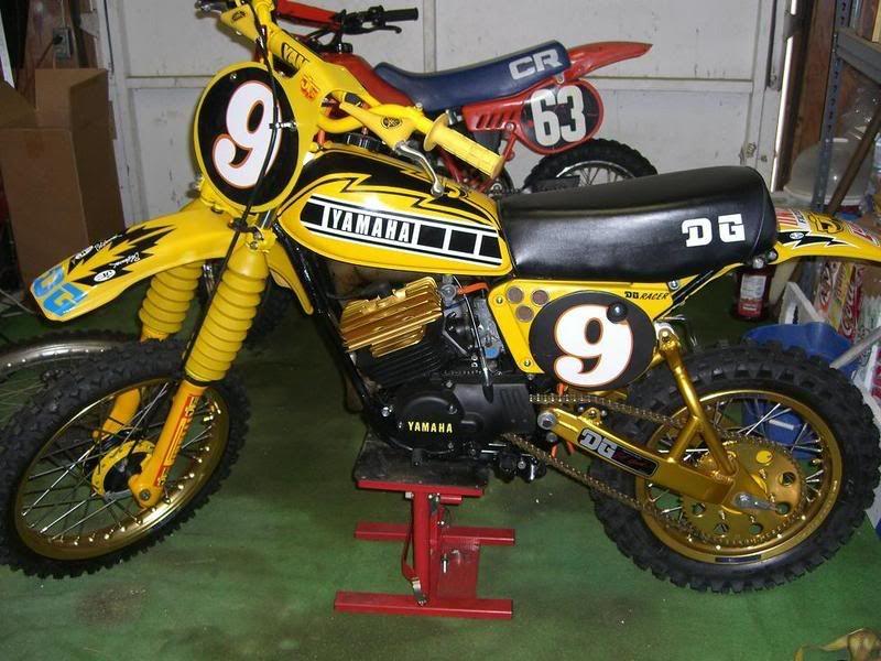 Vintage Mx Restoration Q S Yz80 Moto Related Motocross Forums Message Boards Vital Mx Vintage Motocross Old Bikes Vintage Bikes