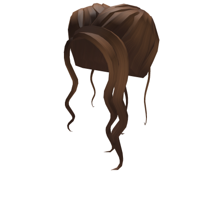 Free Roblox Hair Black Png Image With Transparent Background Png Free Png Images In 2020 Black Hair Roblox Black Hair Roblox