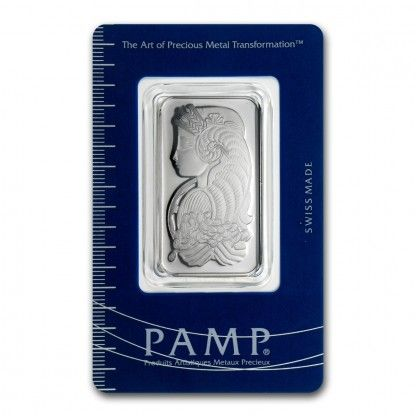 Finesilvercoinsuk Pamp Suisse 1 Oz Palladium Bullion Bar In Stock And Has Just Been Added To Http Www Finesilvercoins Gold Bullion Bars Gold Stock Platinum