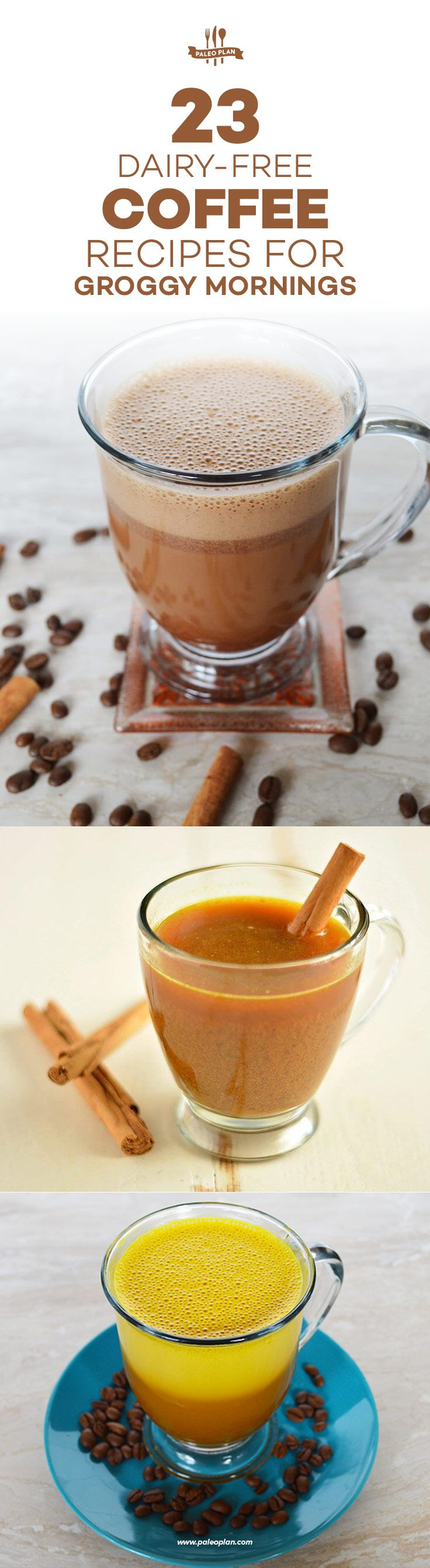23 DairyFree Coffee Recipes for Groggy Mornings Coffee