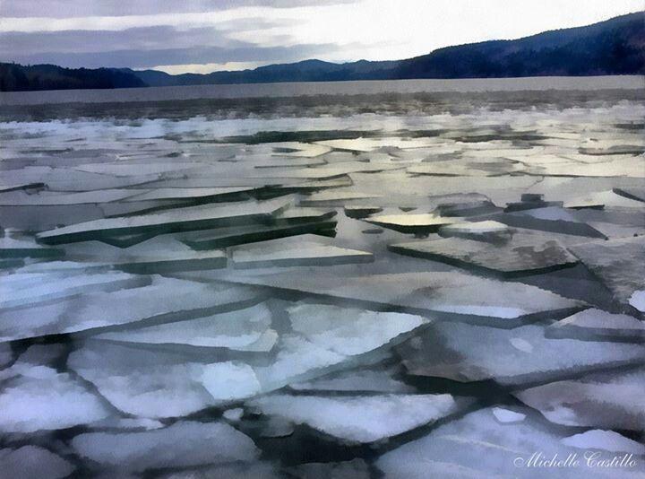 Oyama BC, Canada Wood Lake