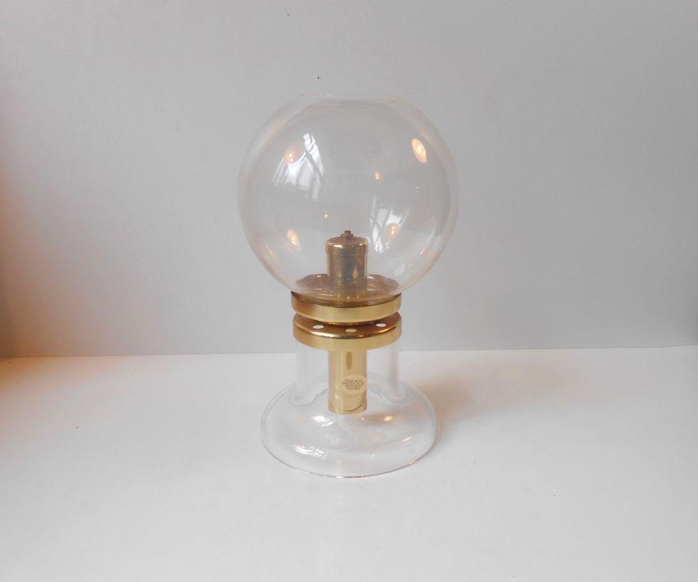 Ultra rare hans agne jakobsson 1950s oil lamp brass glass table ultra rare hans agne jakobsson 1950s oil lamp brass glass table lamp mid century geotapseo Gallery