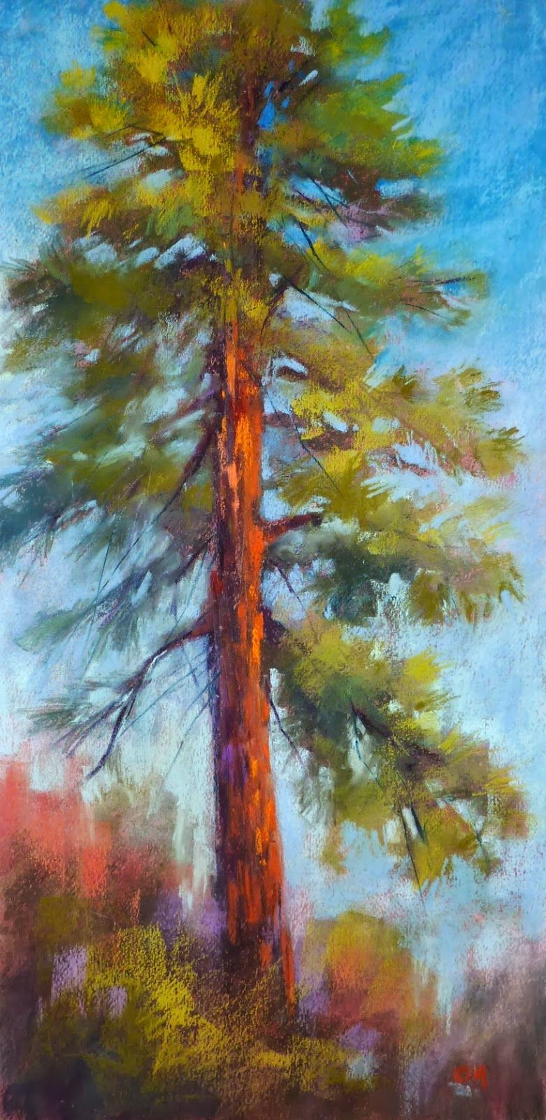 Painting My World: 10 Minutes to Better Tree Paintings