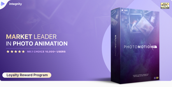 Photo Motion Pro Professional 3d Photo Animator Project For After Effects 22 November 17 Update Videohive Kho đồ Họa After Effects đồ Họa