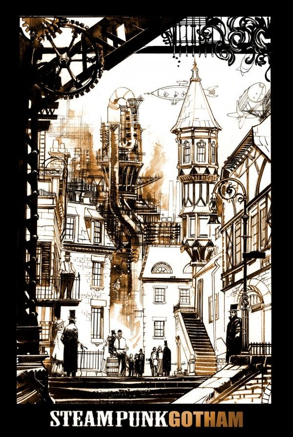 steampunk_gotham_by_seangordonmurphy-d5nrz3n