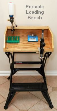 Portable Reloading Bench Free Plans Daily Bulletin Reloading Bench Reloading Bench Plans Reloading Room