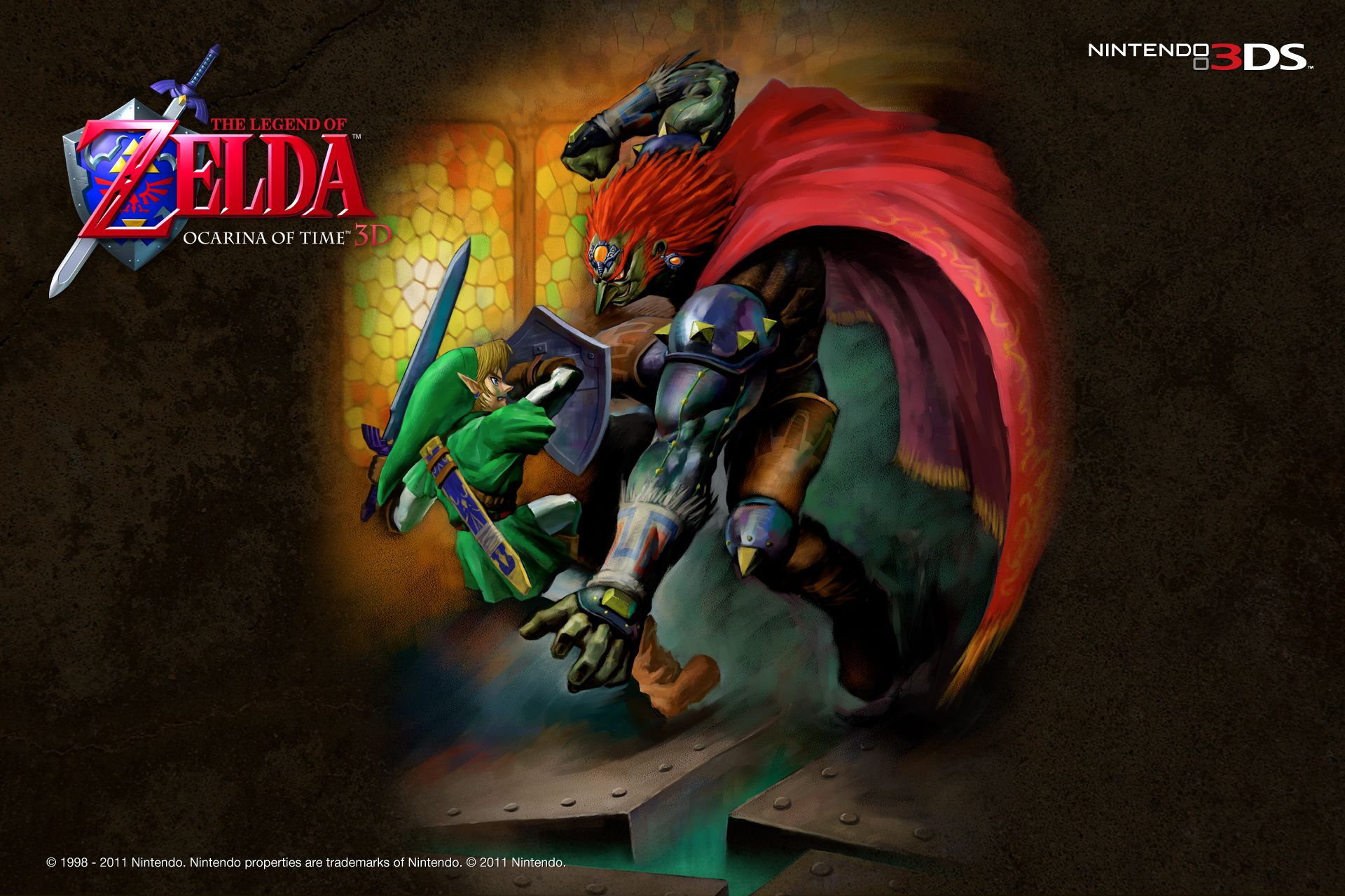 Free Legend Of Zelda Ocarina Of Time Wallpapers Legend Of Zelda