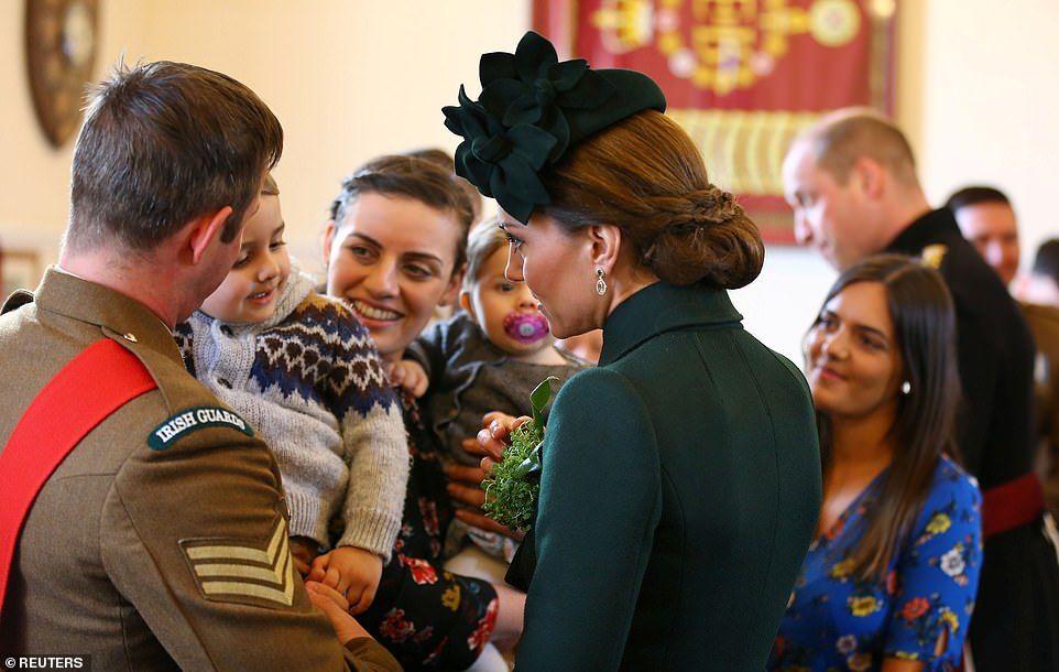 Kate Middleton and Prince William celebrate St. Patrick's