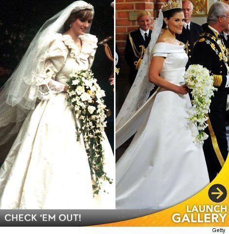 Photos Royal Wedding Dresses Through The Years Toofab