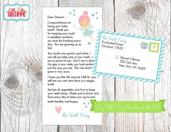 INSTANT DOWNLOAD EDITABLE Tooth Fairy Miniature Letter Making - release notes template