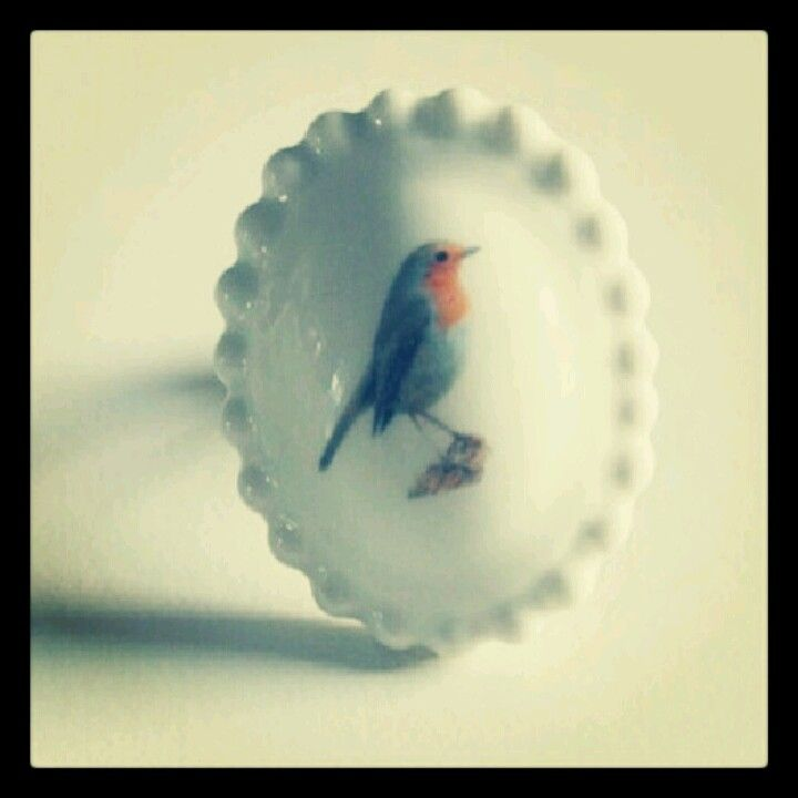 Birdy ring, how cute!