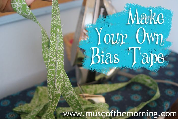 How To Make Wide Bias Tape – A Tutorial | Muse of the Morning Crafty Kits, Wool Felt & PDF Sewing Patterns