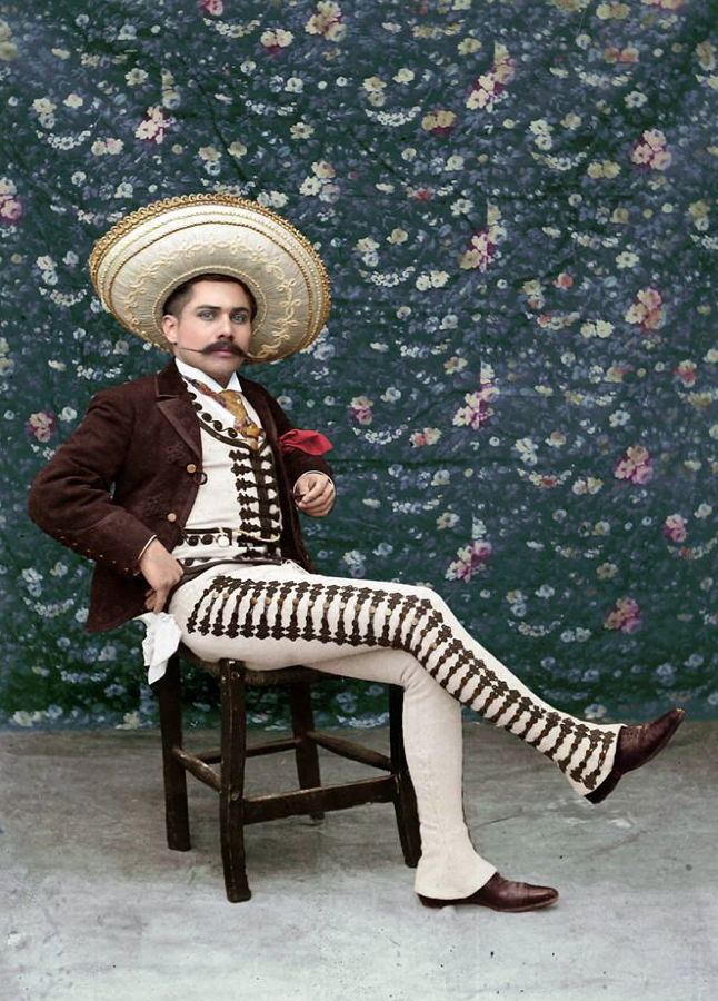 Jacinto Soto, 1904 - a handsome man from Mexico