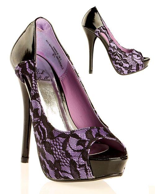 Lavender & Old Lace | Lavender High Heels