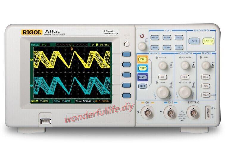 RIGOL DS1102E 2Channel Digital Oscilloscope 100MHz DSO 1GSa/S | Tools