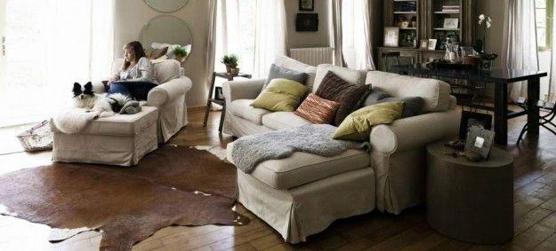 Abbinare divano e poltrona - Soggiorno dallo stile tradizionale ...