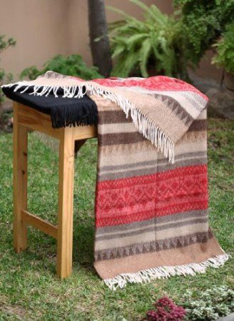 Amazon.com - Special Alpaca Wool Cherokee Style Blanket Throw