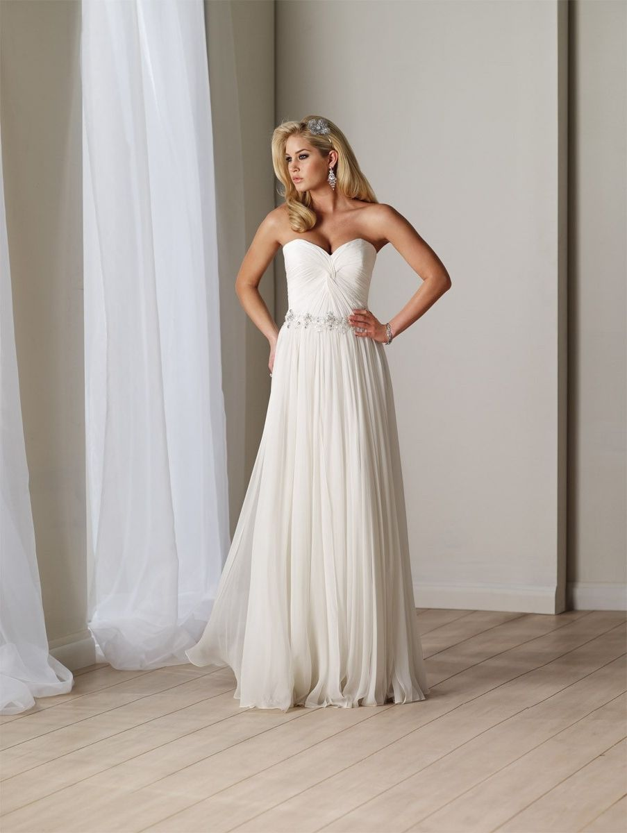 78  images about Chiffon Wedding Dress on Pinterest - Outdoor ...