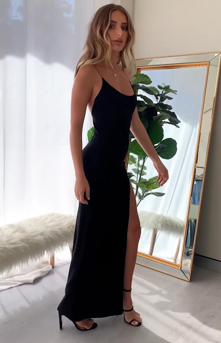 Alissa Formal Dress Black