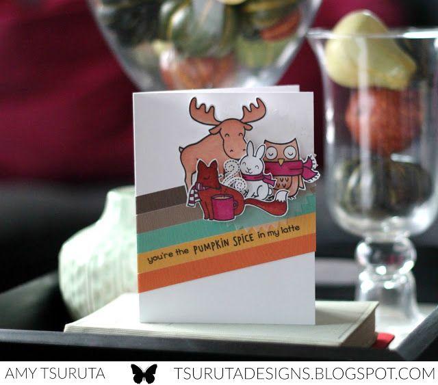 Tsuruta Designs: You're The Pumpkin Spice In My Latte