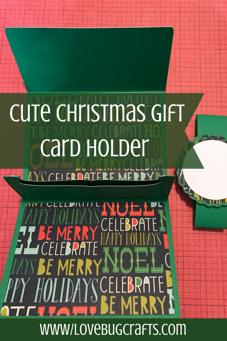 Giving gift cards for Christmas? This cute idea for handmade gift ...