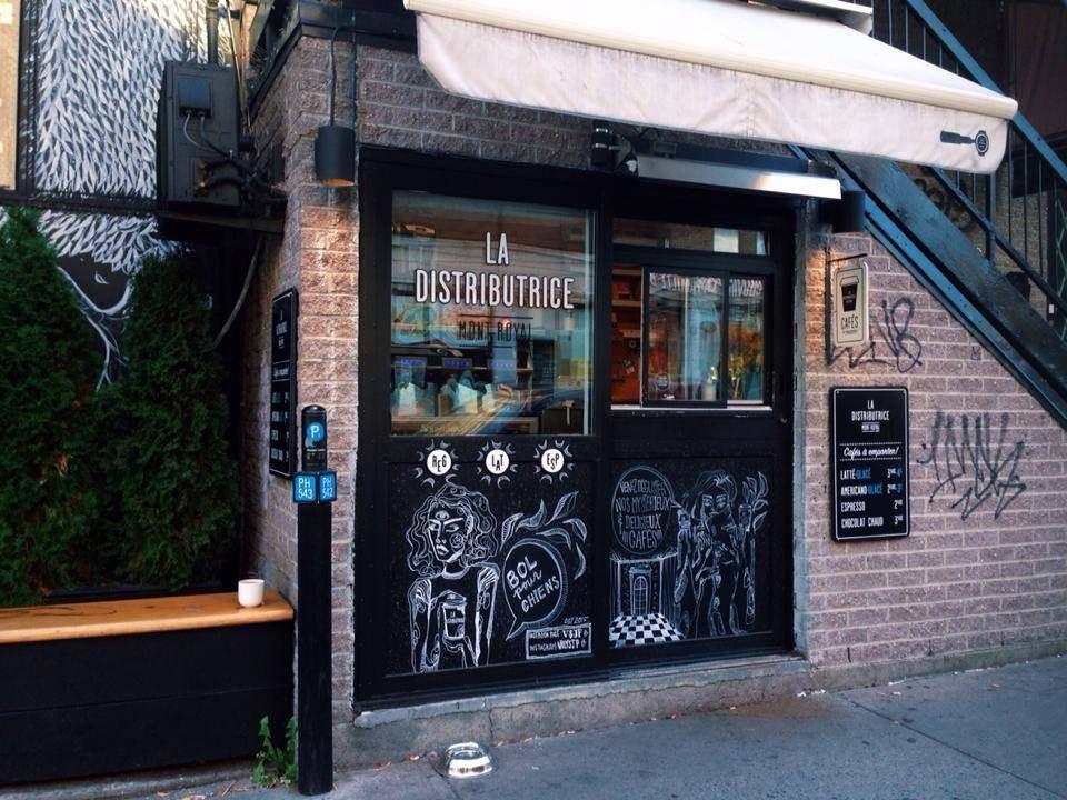 Pin By Dani Kump On Cafe Open Coffee Shop Montreal Visual