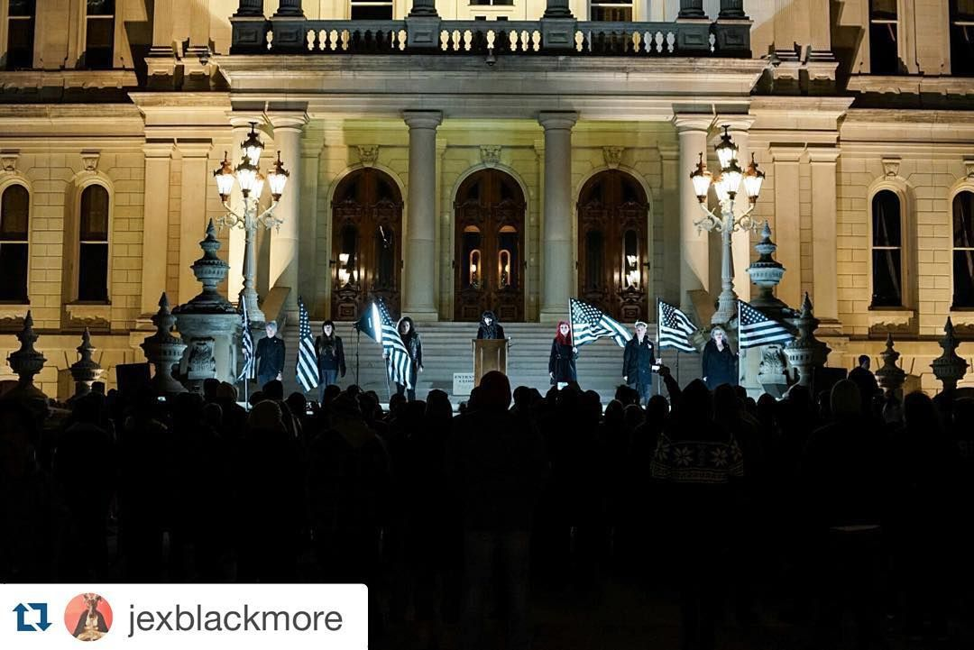 Thesatanictemplerepost From Detroit S Satanic Temple At The Michigan State Capital Jexblackmore Photo Br Satan End Time Headlines Bible Questions And Answers