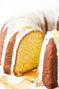 This simple gluten-free lemon bundt cake is moist and nicely tangy, with a medium crumb and lovely d...