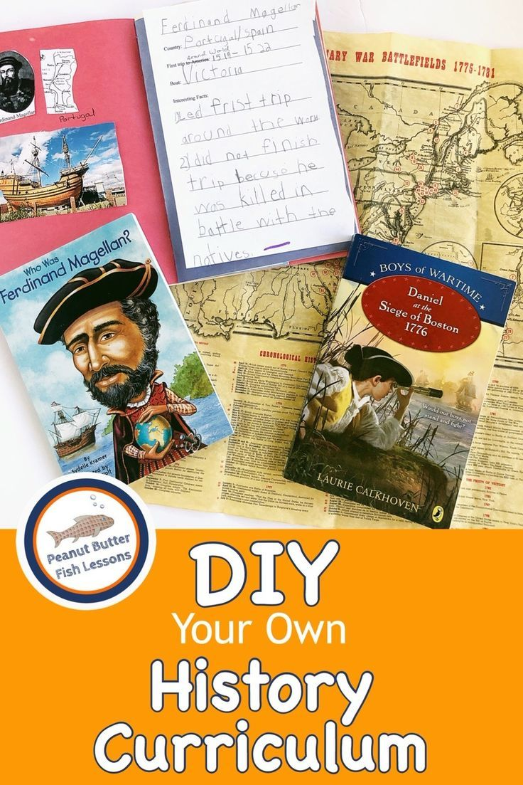 Photo of DIY Your Own History Curriculum – peanut butter fish lessons