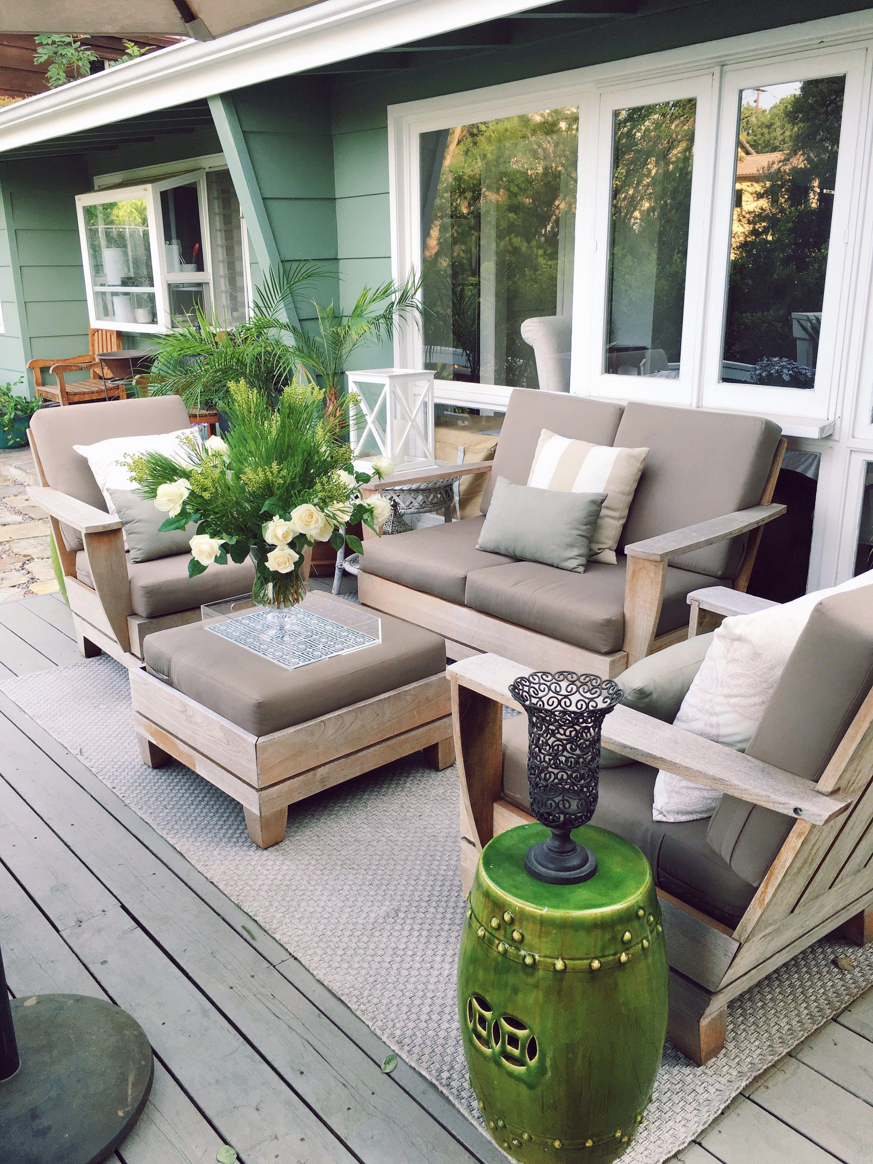 Outdoor Deck Decor My Winter Garden