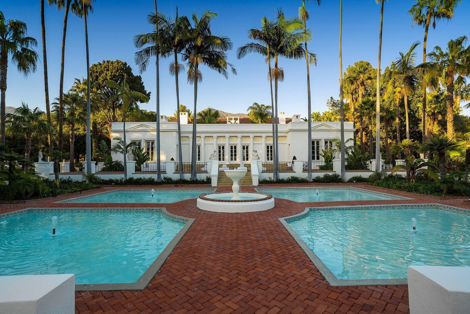"Step Inside The Stunning Mansion From ""Scarface""   - ELLEDecor.com"