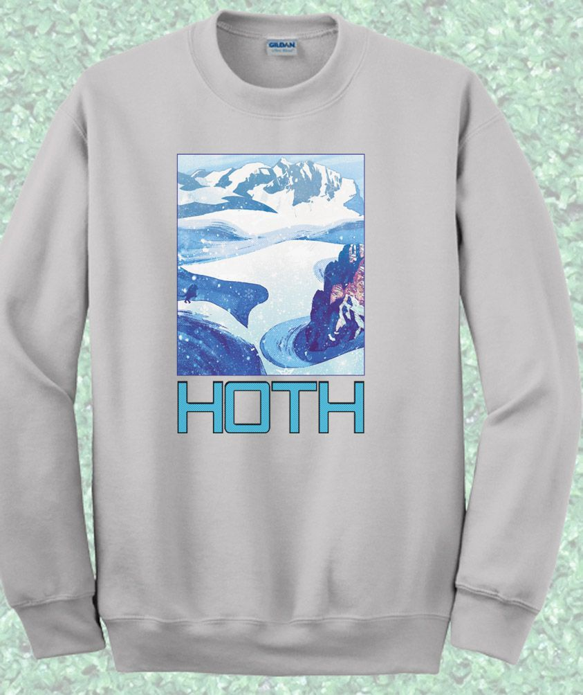 6c201589 Like and Share if you want this Starwars Hoth Camp Crewneck Sweatshirt  Starwars Hoth Camp Crewneck