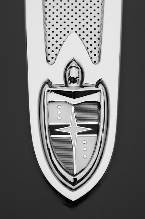 1955 Lincoln Indianapolis Boano Coupe Emblem By Jill Reger Lincoln