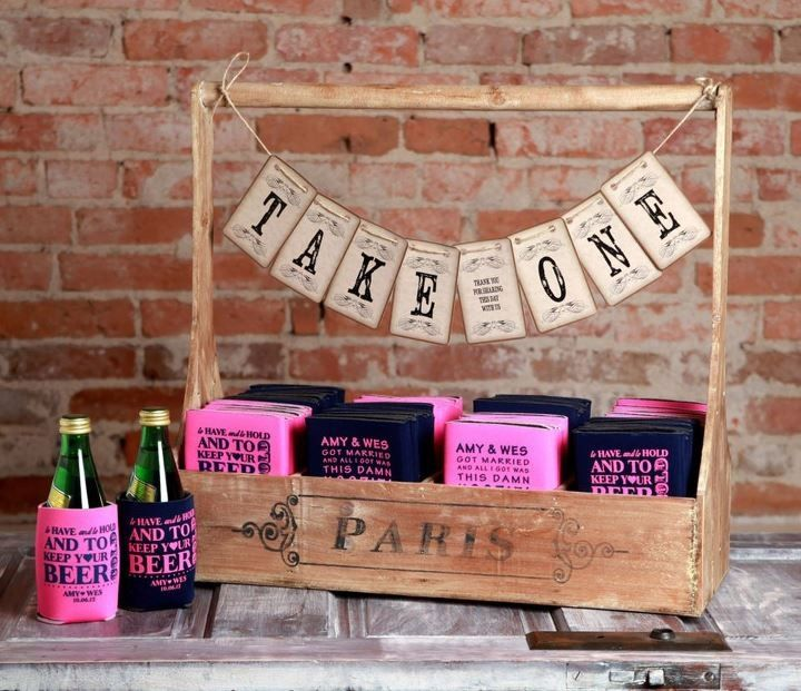 Party Favor Ideas For Wedding Reception: Luv This Idea For Our Reception!!!