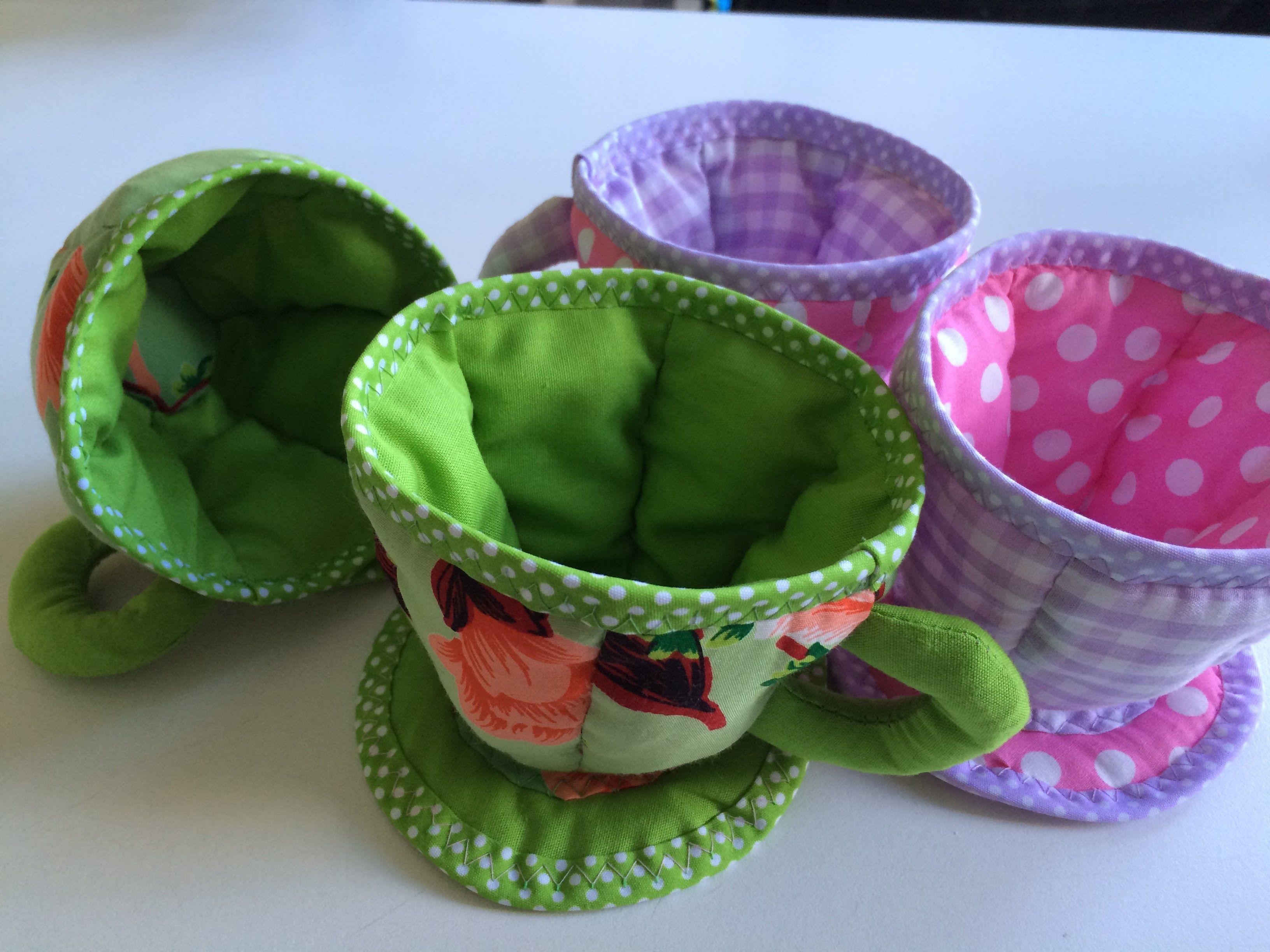 Всем привет! В этом МК я хочу поделиться с вами моим опытом в пошиве текстильной посудки, а точнее чашки. Текстильное блюдце вы найдете здесь: https://www.yo...