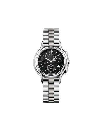 Calvin Klein Round Dial Stainless Steel Strap Watch-For Women #ohnineone #watch #timepiece #calvinklein