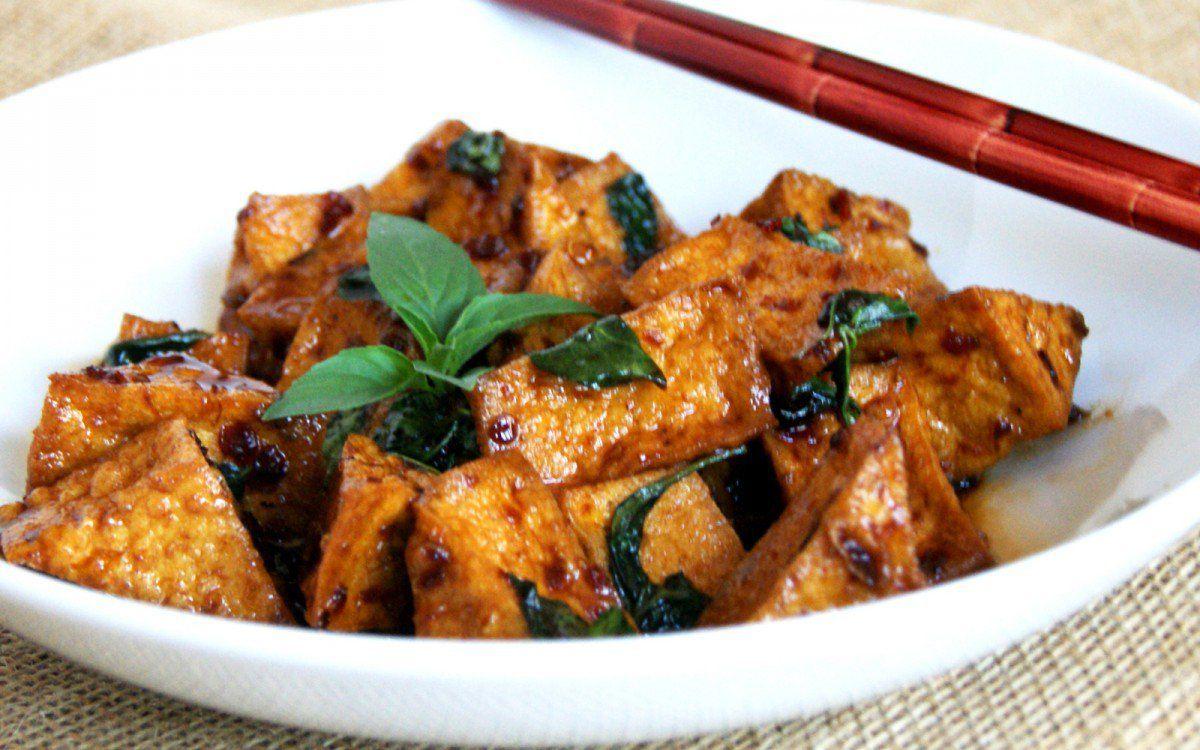 Thai basil tofu vegan thai basil tofu and fish sauce for Vegan fish sauce