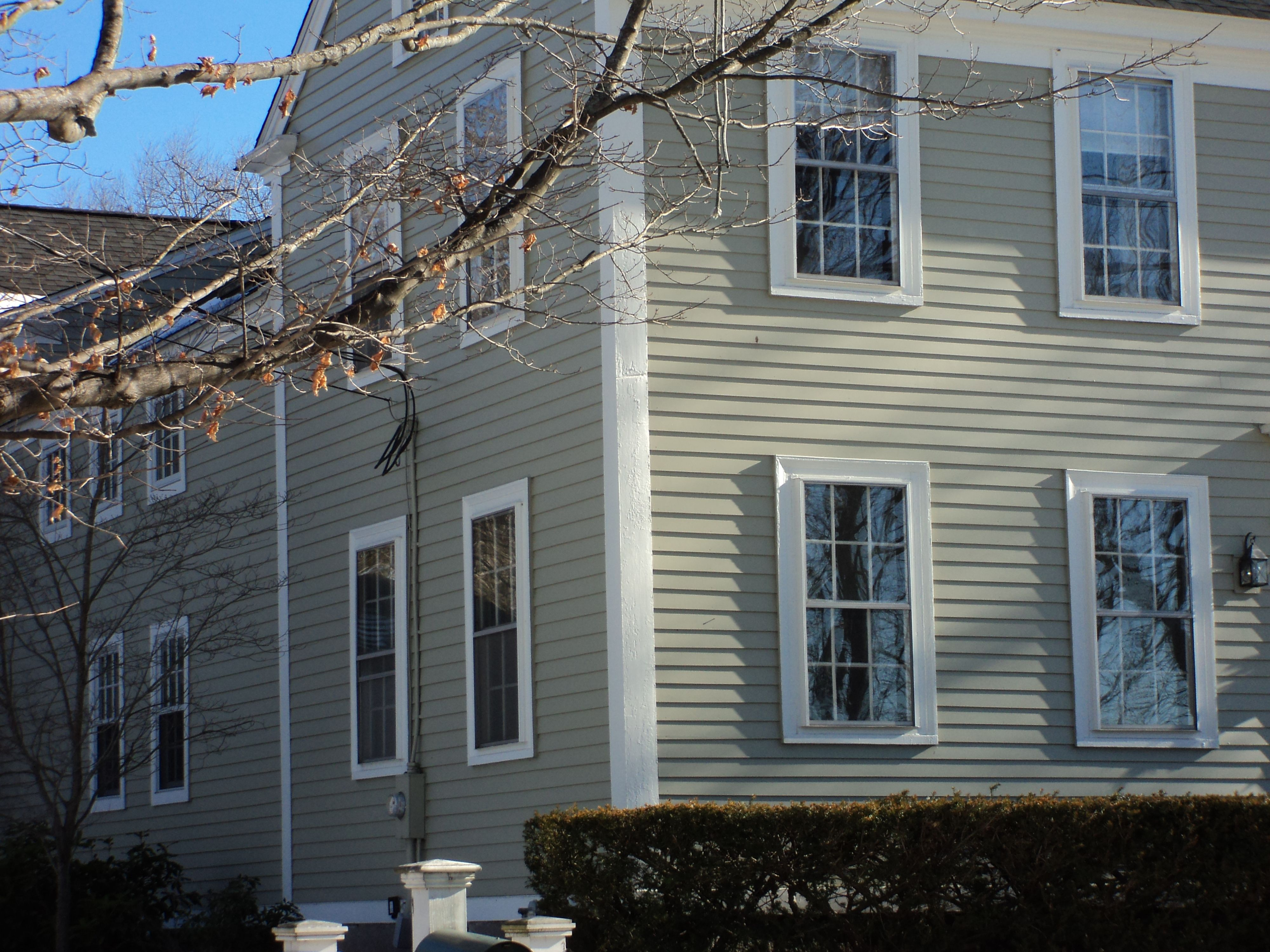 Hampshire Gray Exterior Paint Color Curb Appeal