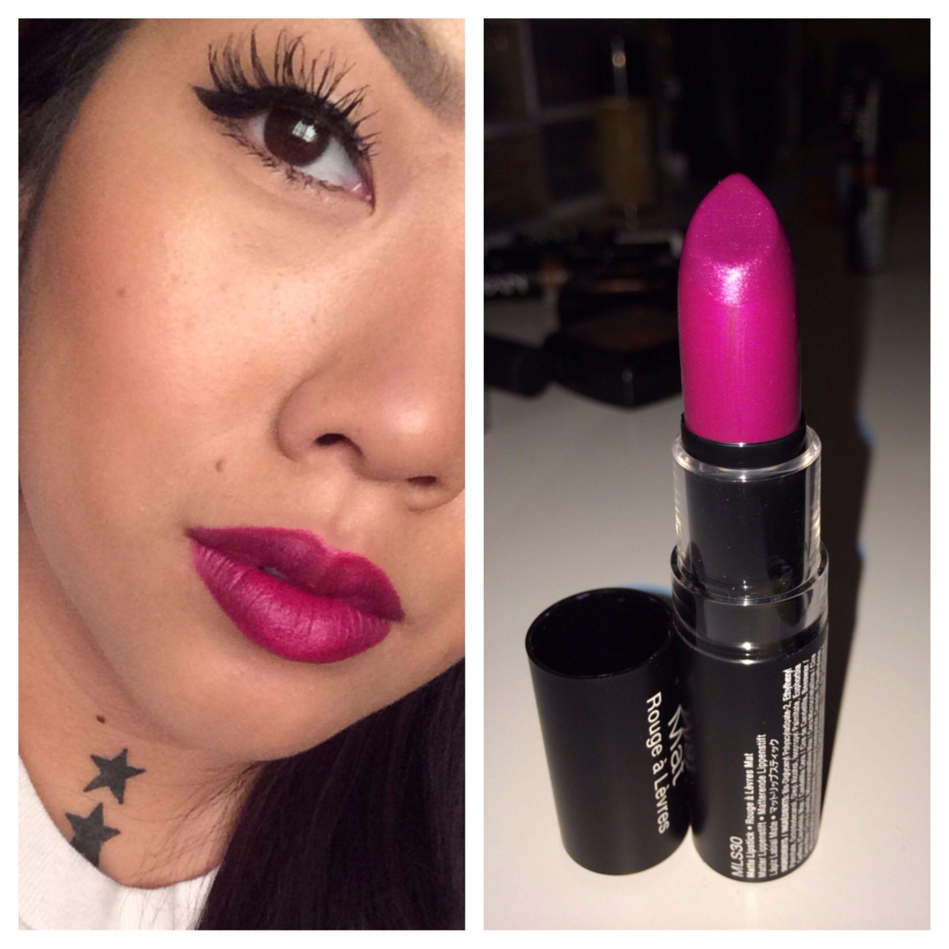NYX matte lipstick in Aria | LIPPIES! LIPSTICKS! | Pinterest ...