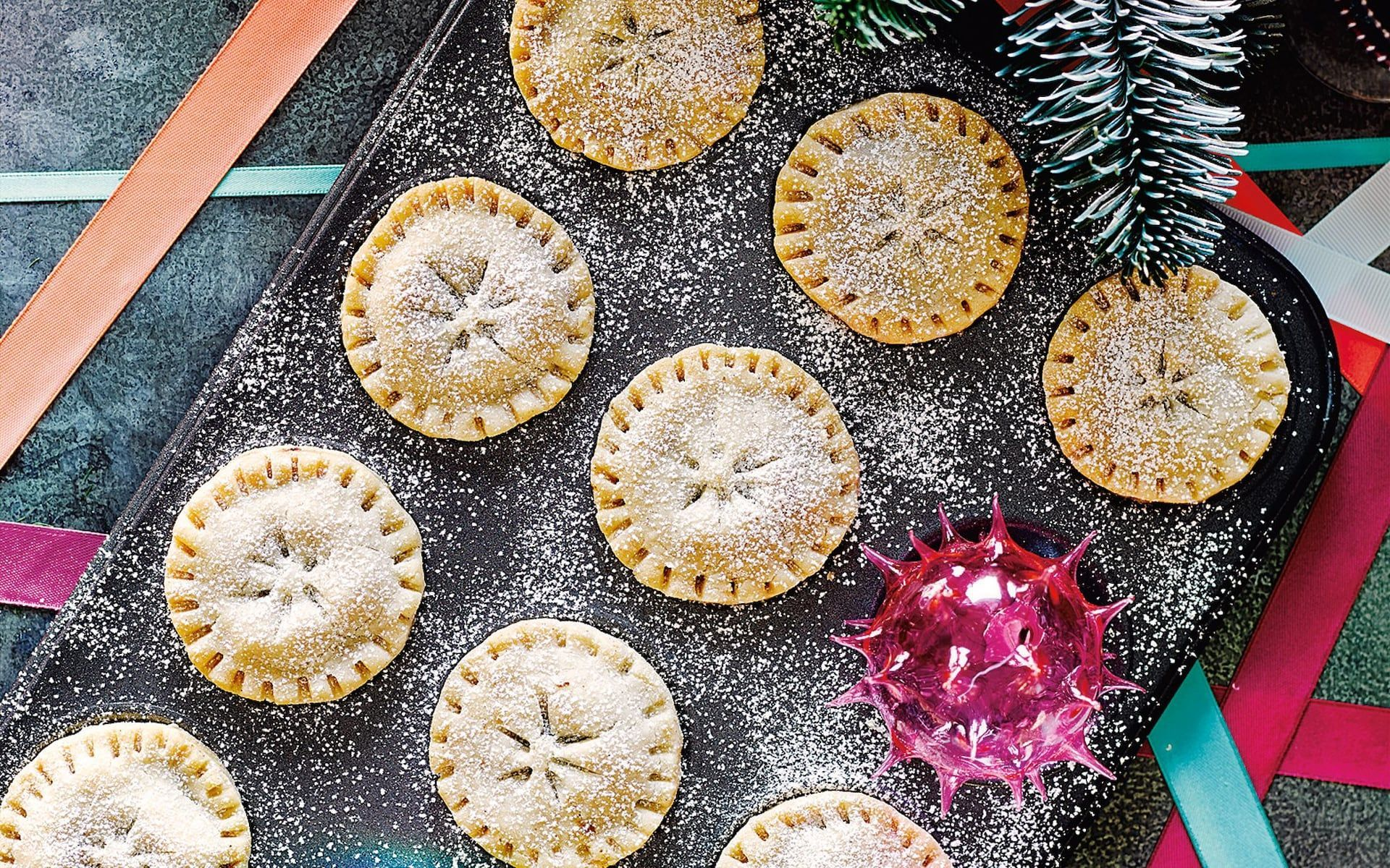 Amelia Freers gluten-free and dairy-free mince pies recipe - Christmas -